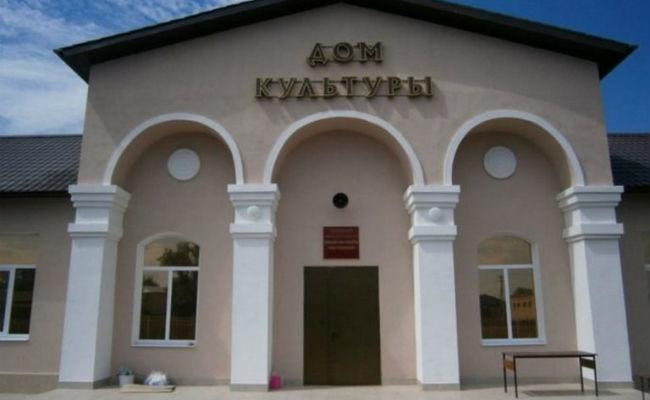 Дом культуры в Цмти Алагирского района