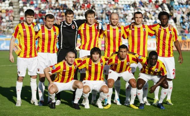 Первый домашний матч ФК Алания во Владикавказе