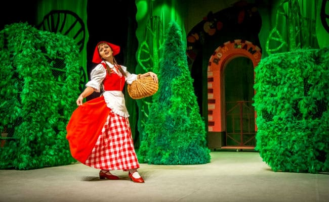 Спектакль Красная шапочка для детей Осетии
