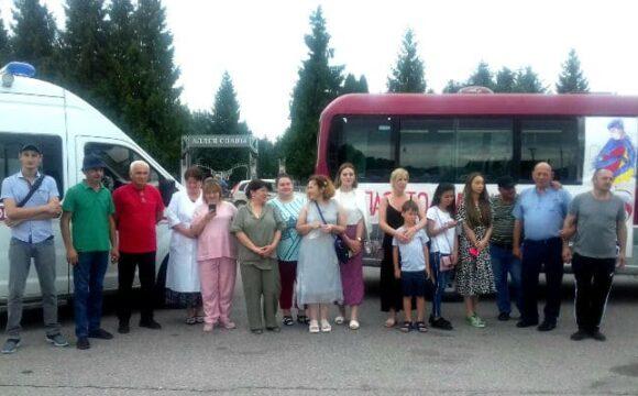 медики Дигорского района отправились на отдых на море