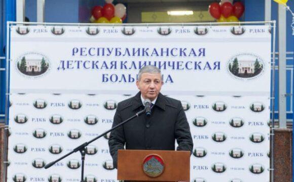Битаров рассказал о реконструкции РДКБ