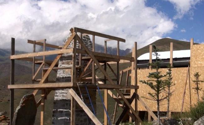 церковь в селении Фаракат восстановят