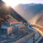 Зарамагская ГЭС - промышленное предприятие Северной Осетии