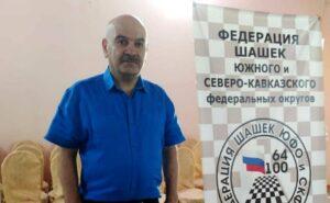 Казбек Гогичев принял участие во Всероссийских соревнованиях по шашкам