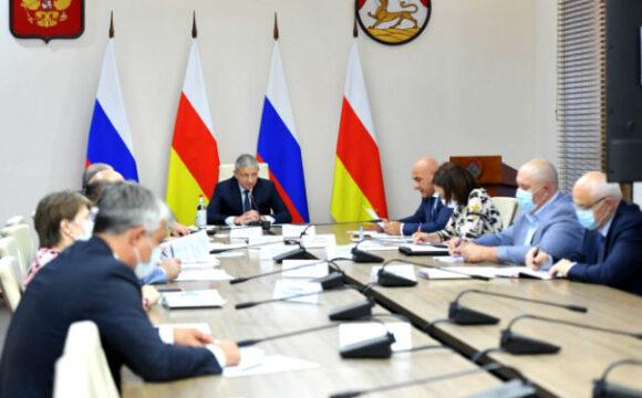 Вячеслав Битаров провёл совещание с главами муниципальных образований
