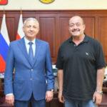 Вячеслав Битаров встретился с Президентом «Клуба путешественников» Михаилом Кожуховым