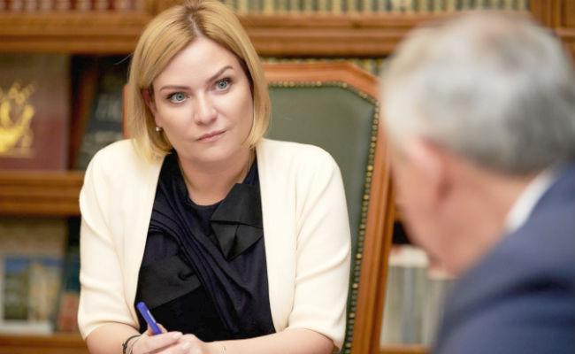 Ольга Любимова и Вячеслав Битаров обсудили развитие культуры в Северной Осетии