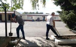 В Северной Осетии росгвардейцы высадили деревья