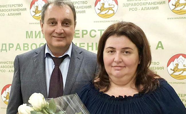 Софья Едзиева удостоена звания «Заслуженный врач Северной Осетии»