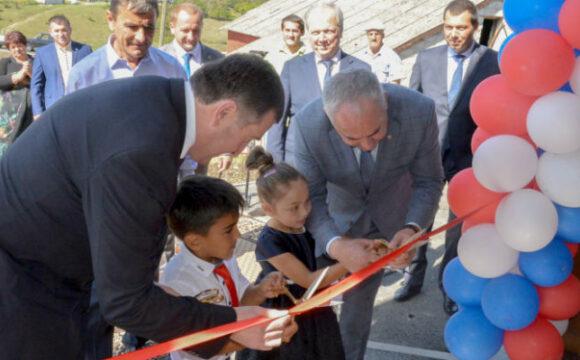 Таймураз Тускаев поздравил жителей Толдзгуна с открытием Дома культуры
