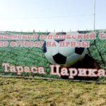 В Чиколе прошёл футбольный турнир на призы Тараса Царикаева