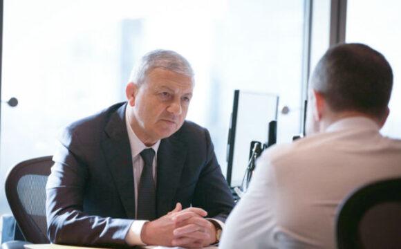 Глава Северной Осетии встретился с Михаилом Бабичем