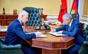Вячеслав Битаров встретился с Министром спорта РФ Олегом Матыциным