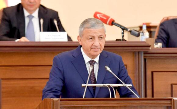 Глава Северной Осетии поздравил Контрольно-счётную палату с юбилеем