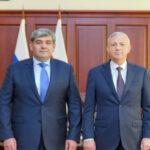 Рабочая встреча Глав Северной Осетии и Кабардино-Балкарии