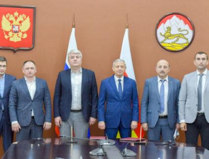 Состоялась встреча Вячеслава Битарова с генеральным директором АНО «Диалог»