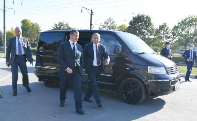 Трутнев побывал на социальнозначимых объектах Осетии