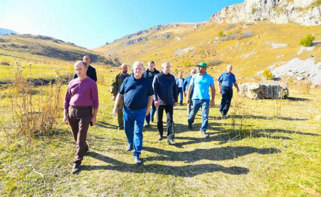 Поддержка фермеров Северной Осетии со стороны Правительства Республики