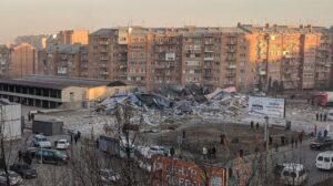 Взрыв в супермаркете во Владикавказе